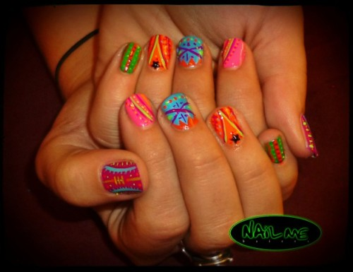 hellogiggles:  NAILS OF THE DAYby From Our Readers  http://bit.ly/ZgMMzQ