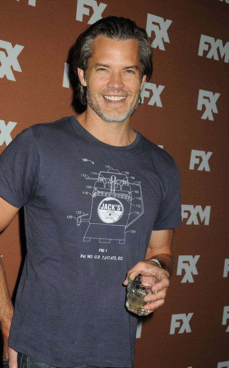verysherry:  Timothy Olyphant || FX Upfront Bowling Event at Luxe at Lucky Strike Lanes in NYC on March 28, 2013