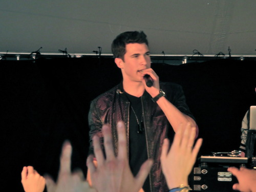 Timeflies Tuesday visited UD's campus during the 2013 Senior Fling