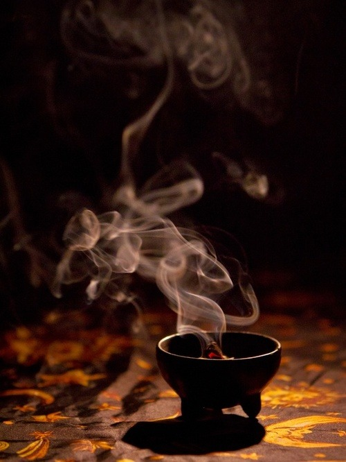 natural-magics:  incense! unfortunately, i wasn't able to find a source for this, even with Google image search. does anyone know the source?