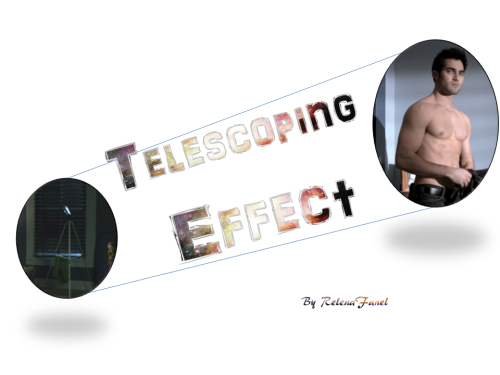 "relenafanel:  Telescoping Effect by RelenaFanel Summary:  Derek Hale's new flat turns out to be in the direct line of sight from Stiles' bedroom window. The one with the telescope. Stiles always did appreciate a stellar gazing experience. Rated: M for voyeurism and masturbation (oh my!)  Excerpt:  ""Didn't you clean in here?"" Scott reproached, eyes wide in horror. Stiles laughed, because of course Derek hadn't cleaned.  Even if Derek had standards, this was a huge step up from all the other places Stiles assumed Derek had been living since returning to Beacon Hills, like his car, the burned remains of his house, a cave, a picnic bench in the preserve, that stupid warehouse, etcetera.  Basically, the flat was Derek's equivalent of moving from a flophouse to the Ritz, and who felt the need to clean the Ritz? There was an actual roof overhead and everything. And windows. And a hole in the wall that was done on purpose.  For aesthetics for getting from one room to another – like a doorway! Because once upon a time this had been a seriously nice condo.     This is really really good and I am going to go ahead and recommend this whole heartfelt to everyone. (it is porny at the end and really funny before that mostly.)"