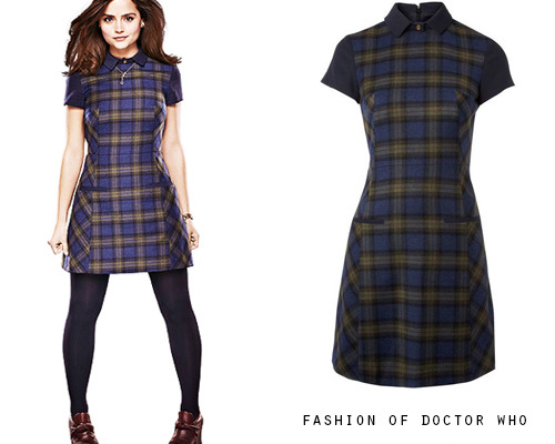 Clara Oswald - The Name of the Doctor  NW3 by Hobbs Elm Dress - Sold Out  Worn With: F-Trope Wedges in Burgundy
