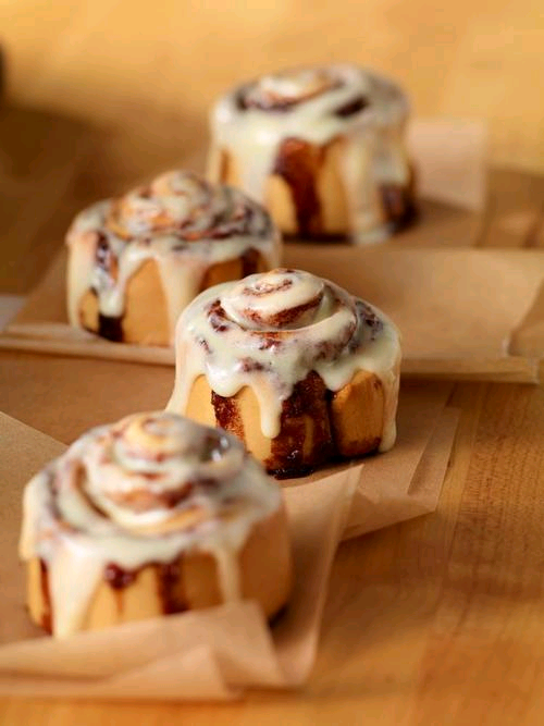 Uh oh… Cinnamon rolls are back.