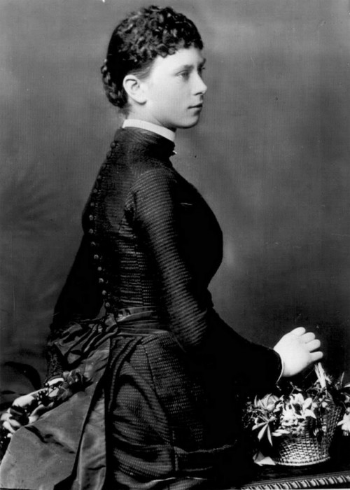 "carolathhabsburg:  Princess Mary ""May"" of Teck . Mids-Late 1880s."