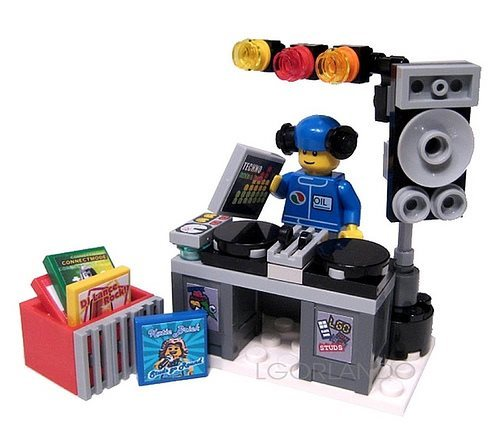 Lego DJ – a custom minifig creation by lgorlando Buy lego minifigures at Fire star toys,  BUY HERE
