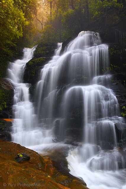 jefferylewis:  Sylvia Falls by -yury- on Flickr.