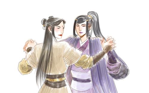 #madam jin#madam yu#yu ziyuan #madam jin x madam yu  #mo dao zu shi #sketch