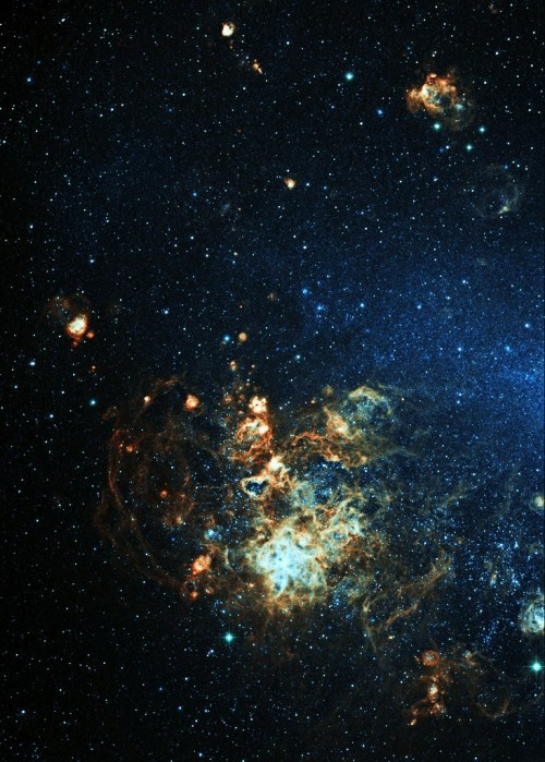 stellar-indulgence:  Tarantula End of the Large Magellanic Cloud