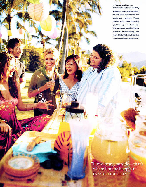the cast of Lost in InStyle US 2005    How much i miss this lovely cast <3