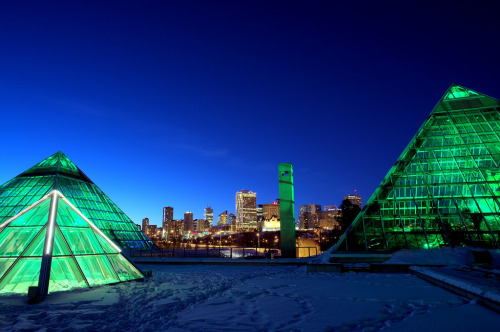 "mastermaq:  (via This Is Edmonton: Architectural Icons | Spacing Edmonton)  ""Edmonton is not a city of iconic design and architecture. There are few if any structures here that could seriously be put forth as 'iconic' on a world scale, and that's fine. Edmonton is a pragmatic city, perpetually a place to get things done. Edmonton is a place to build structures which serve a purpose rather than to build magnificent edifices which serve as monuments to vanity or capitalism. Despite this, Edmonton contains an amazing stock of interesting and unique structures as beautiful as they are practical."""