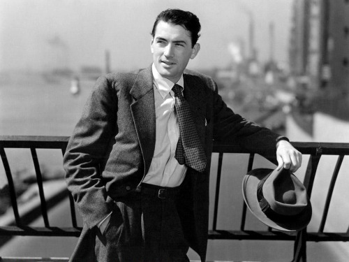 "lars134:  Gregory Peck in ""Gentleman's Agreement"" (1947)"