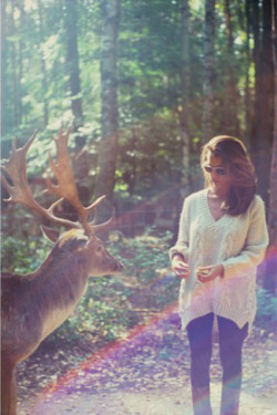 beyoung1990:  Talking To Deers