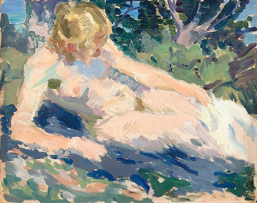 bofransson:  Santeri Salokivi 1886-1940 Woman in the Sun