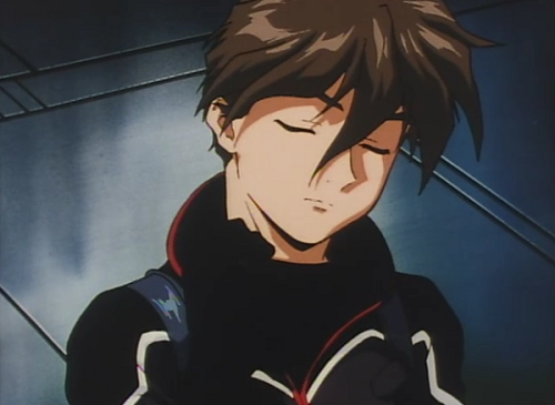 "thoughts-in-stereo:   Gundam Wing: Odd & Even Numbers - ""Break System""  Oh my god, can I just stop everyone and tell you how much these images break my heart? So this is from the Odd & Even Numbers short scenes: The first 5 are from the opening and the last 3 are from Heero's separate mini-scene. All of this takes place immediately after the series (the first images are him actually rejoining the others after blowing up the piece of Libra). And I just have to say that Heero looks so damn unsure, it's almost heartbreaking. We have this character who spends majority of the series not worrying about the future, instead living in the immediate present, and then when he wins his ultimate mission and survives through it… it's obvious he's thinking 'what now?' I think its so unsettling in a way because when we see the end of the series, we're kind of led to assume that the pilots rejoined the other survivors and had a wonderful evening celebrating. But we get to these scenes, and in the scene (though my images don't reflect it), they obviously aren't. Heero spends the time looking nervous and more quiet than usual, and in one instance is actually struggling to let go of Wing Zero's controls. When the pilots come in to land back with the others, all of them are quiet, nervous and looking doubtful. When Heero looks around, Wufei is staring at his Gundam, Trowa is helping injured Quatre, and Duo is stretching his muscles. None of them immediately rejoin the others. It just… really breaks my heart ;_;"
