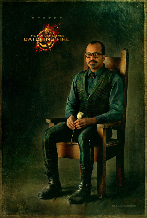 "Official Catching Fire Capitol Portrait of Beetee! Beetee's portrait was the latest one released! This portrait was unveiled by ""Capitol Tastemakers"" which are some of the THG fansites!"