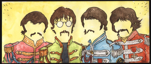 Beatles by David Petersen