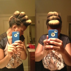 naturalblkgirlsrock:  My hair »