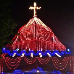 Merry Christmas folks, from the largest church in Varanasi, India