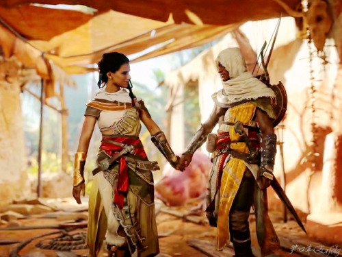 Aya and Bayek!