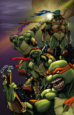 yourmommaluvsbatman:  sidiview:  Teenage Mutant Ninja Turtles  (via TumbleOn)