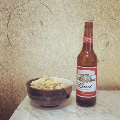#beer #evening #chips #bud