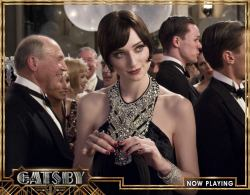 "gatsbymovie:  ""I've just heard the most shocking thing…"""