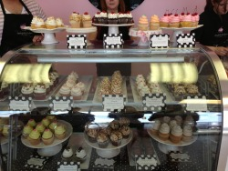 Just visited the cutest cupcake shop ever with my best friend in the whole wide world! <3