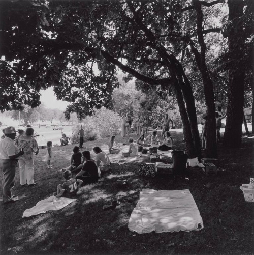 Picnic, Como Park, St. Paul, Minnesota, 1976 (by Thomas F. Arndt) Photo via Minneapolis Institute of Arts and ArtsConnectEd