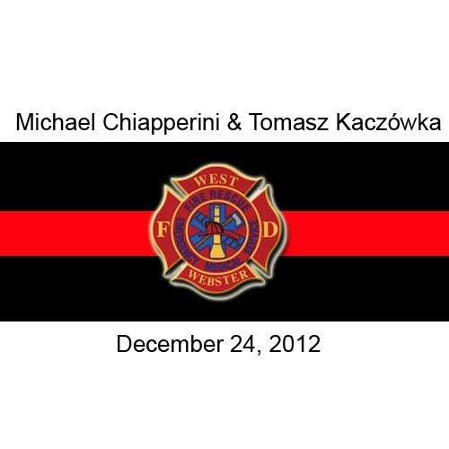 3-4-3:  Rest in peace Tomasz Kaczowka and Michael Chiapperini. I'm honored to have worked and shared laughs with you, Chip!