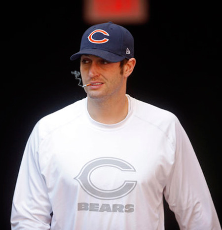 It's game day, and it's a big one!  Smokin' Jay Cutler and the Bears are in Detroit playing the Lions in their final regular season game.  If they can come away with a victory and the Vikings lose to Green Bay, then Chicago is playoff bound.  Smoke if you got 'em.