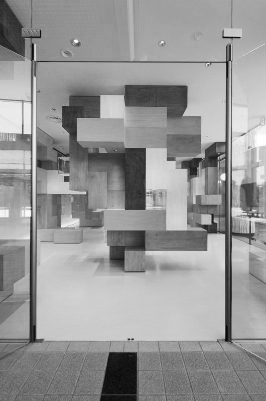 fiore-rosso:  tatsu matsuda architects | gallery of puzzles / japan institute of science and technology.