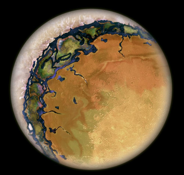 thenewenlightenmentage:  Eyeball Earths Alien worlds resembling giant eyeballs might exist around red dwarf stars, and researchers are now proposing experiments to simulate these distant planets and see how capable they are of supporting life.  Red dwarfs are small, faint stars about one-fifth as massive as the Sun and up to 50 times dimmer. They are the most common stars in the galaxy and make up to 70 percent of the stars in the universe, vast numbers that potentially make them valuable places to look for extraterrestrial life. Indeed, the latest results from NASA's Kepler space observatory reveal that at least half of these stars host rocky planets that are half to four times the mass of Earth. Continue Reading