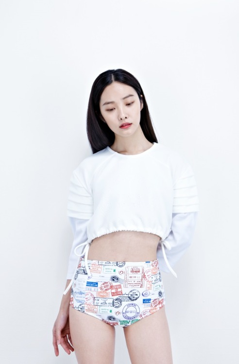 1unablu:     Kwak Jiyoung for Low Classic S/S 2013 collection