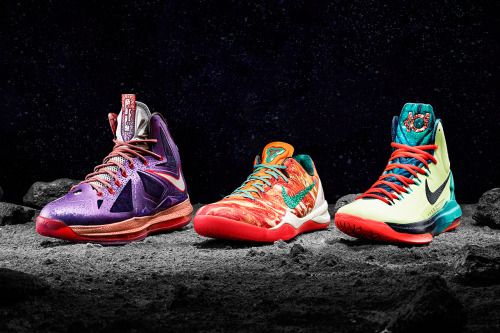 hypebeast:  Nike Basketball 2013 All-Star Footwear Collection
