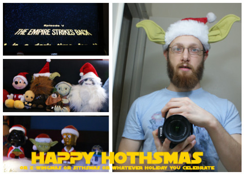 Happy Hothsmas from our family* to yours… *who is napping so we have some wonderful stand-ins