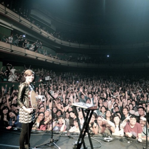 teganandsara:  #Singapore was possibly the best show we've played all year. LOVED IT! Best audience! We'll be back.