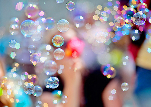 I love bubbles!