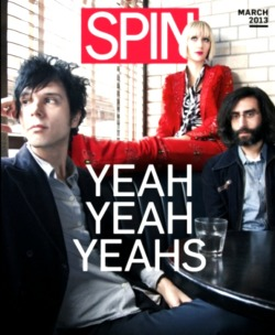 yyysfreak:  Yeah Yeah Yeahs for Spin Magazine, March 2013