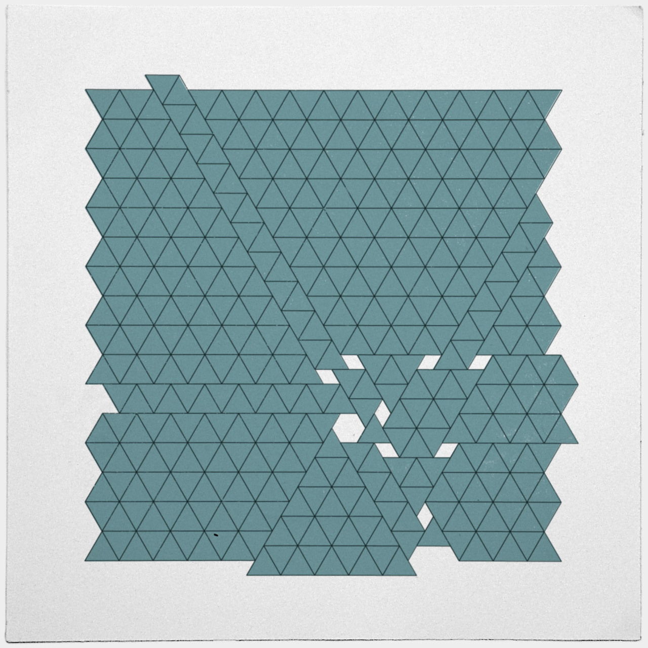 geometrydaily:  #426 Tectonic activity – A new minimal geometric composition each day