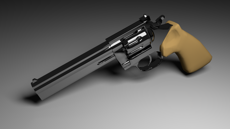 cirogen:  The revolver I've been working on for a few days is finally complete!