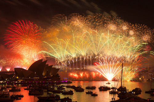 Sydney is the first major city to welcome in 2013, with a dazzling firework display. Check out our gallery, which will be updates as the new year arrives around the world. Happy New Year to all on tumblr from The Guardian!