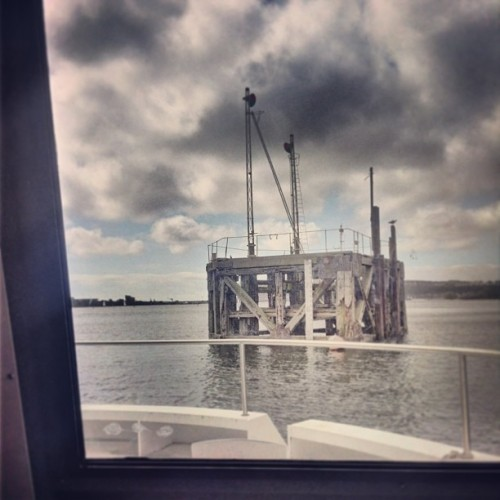 I'm on a #boat - #cardiff #caerdydd #cardiffbay (at Mermaid Quay)
