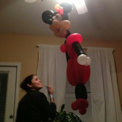 #meridianhookahlounge #aftermath #Minnie #balloondelivery