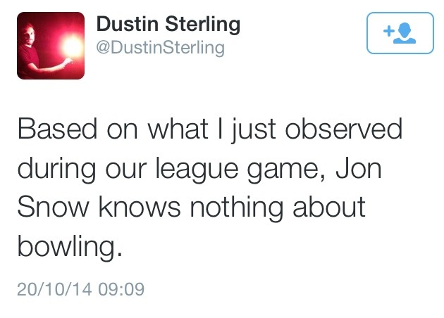 Kit better play ping pong…apparently bowling is not your game XD