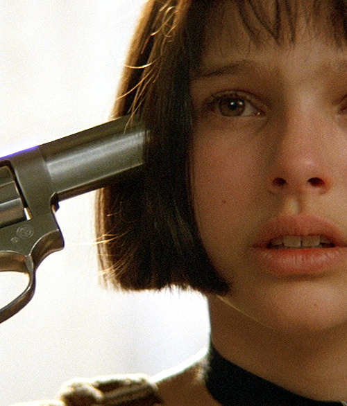Natalie Portman in Léon: The Professional.