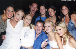 Paris, Nicky, & friends.