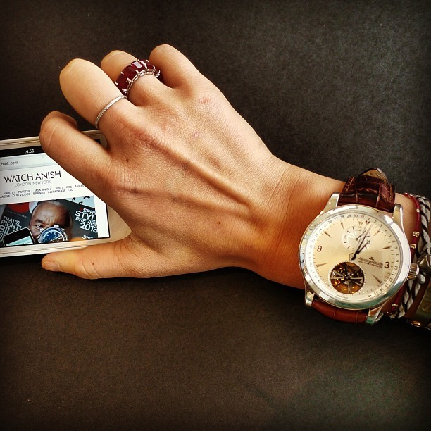 On the go reading~ Thanks for the warm Instagram welcome @watchanish!