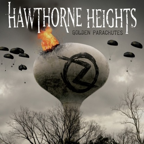 hawthornehgts:  Golden Parachutes single artwork