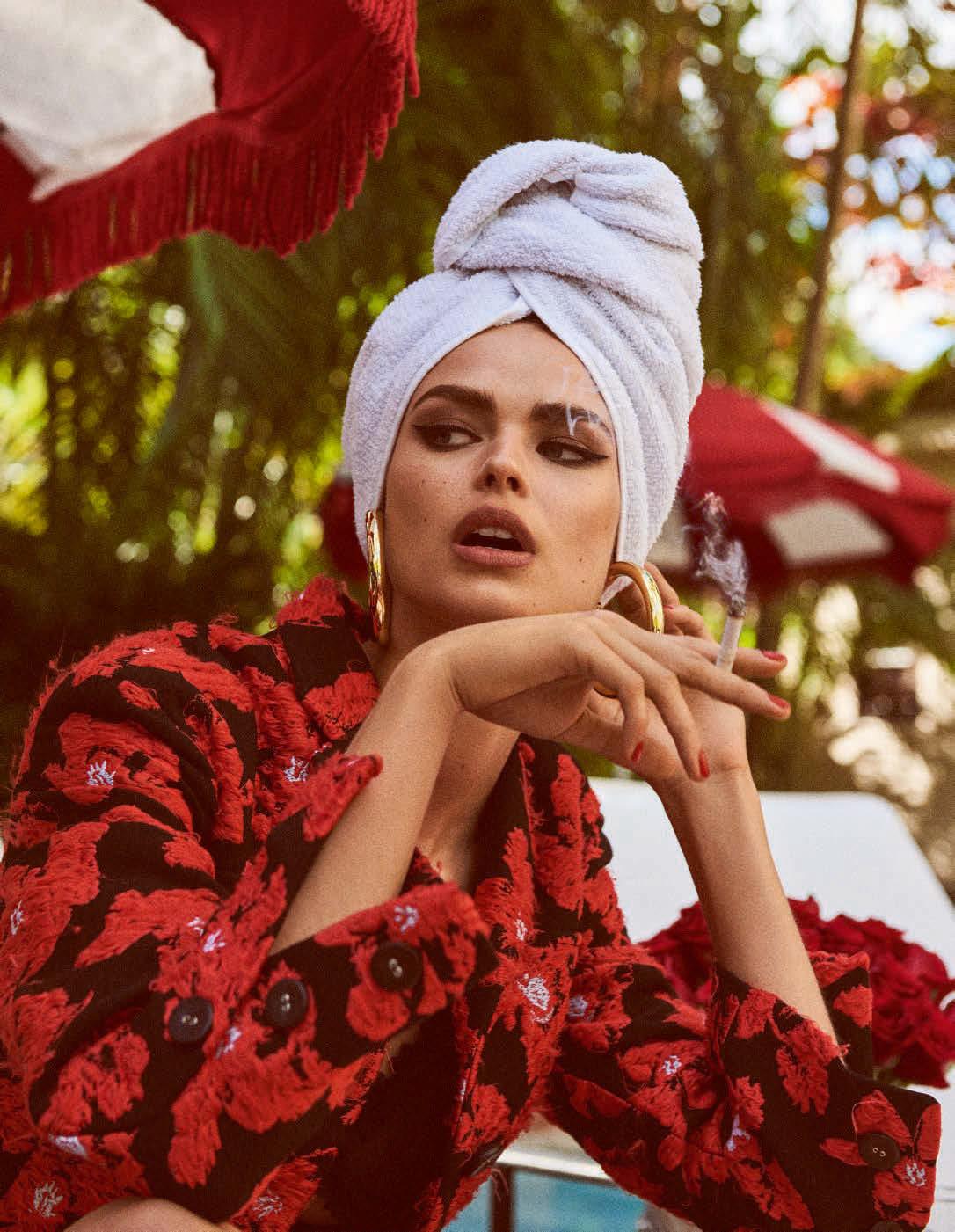 Fleur & Flamme - Birgit Kos For Vogue Germany March 2018 Part 1