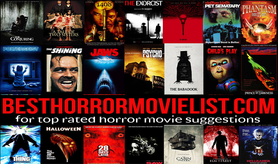 the best horror movies list